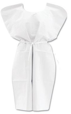 Image for N'sure All-tissue Exam Gowns