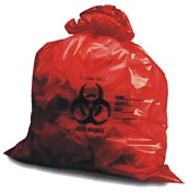 Image for Allegiance Biohazard Bags