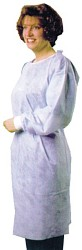 Image for Pearson Fluid Resistant Gowns W/knit Cuffs