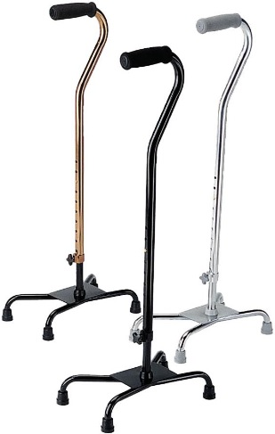 Image for Aluminum Quad Cane
