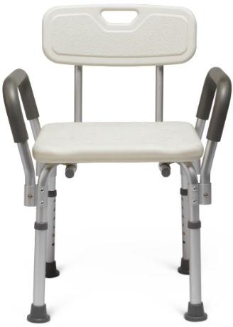 Image for Knockdown Bath Bench with Arms